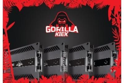 Новые мощные усилители от Kicx серии Gorilla Bass